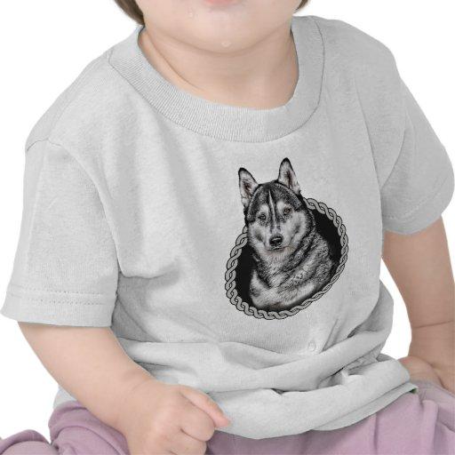 Siberian Husky 001 T-shirt