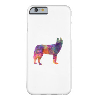 Siberian Husky 01 in watercolor Barely There iPhone 6 Case