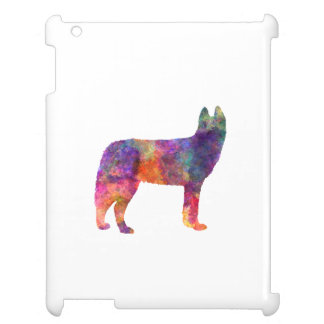 Siberian Husky 01 in watercolor Case For The iPad