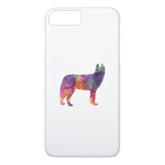 Siberian Husky 01 in watercolor iPhone 7 Plus Case