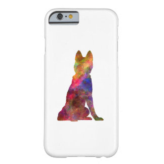 Siberian Husky 02 in watercolor Barely There iPhone 6 Case