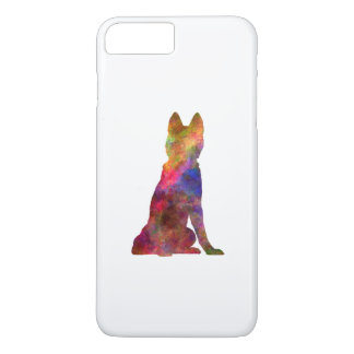 Siberian Husky 02 in watercolor iPhone 7 Plus Case