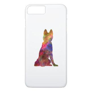 Siberian Husky 02 in watercolor iPhone 8 Plus/7 Plus Case
