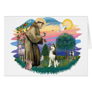 Siberian Husky (#3) Card
