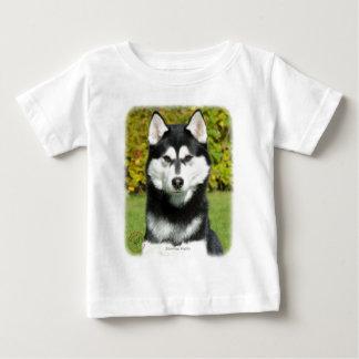 Siberian Husky 9P046D-49 Baby T-Shirt