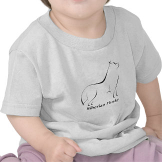 Siberian Husky Apparel Shirt