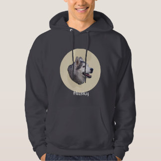 Siberian Husky Art Hoodie