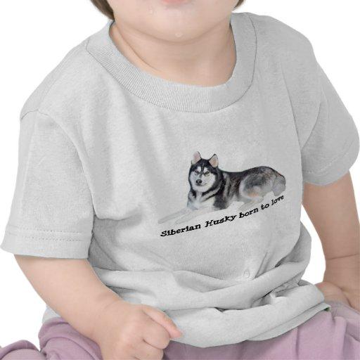 Siberian Husky Beautiful Unisex Toddler T-Shirt