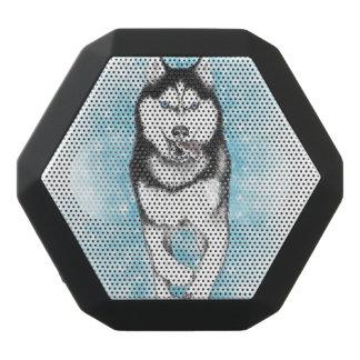 Siberian Husky Black Bluetooth Speaker