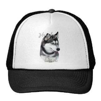 Siberian Husky (blk) Dad 2 Trucker Hat