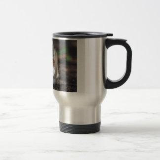 Siberian Husky Blue Eyes Dog Coffee Mug