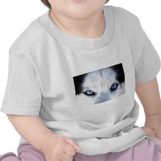 Siberian husky blue eyes shirt
