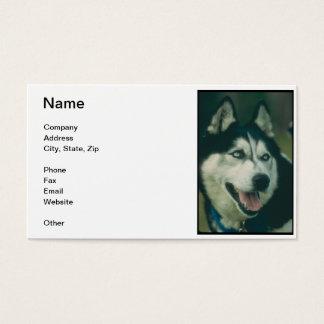 Siberian Husky Business Card