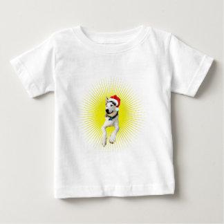 Siberian Husky Christmas Baby T-Shirt