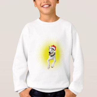 Siberian Husky Christmas Sweatshirt