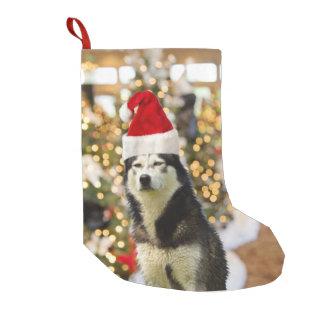 Siberian Husky Christmas Tree Hat