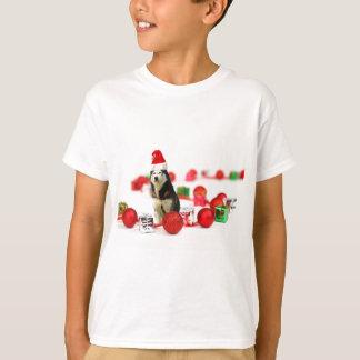 Siberian Husky Christmas with Ornament  Gift Box Tshirt