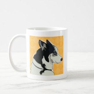 Siberian Husky Coffee Mug - Walk Time