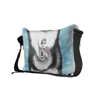 Siberian Husky Commuter Bag