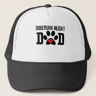 Siberian Husky Dad Trucker Hat