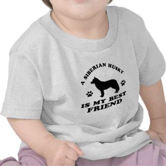 Siberian Husky designs Tees