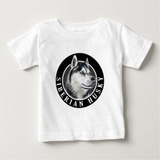 Siberian Husky Dog 002 Baby T-Shirt