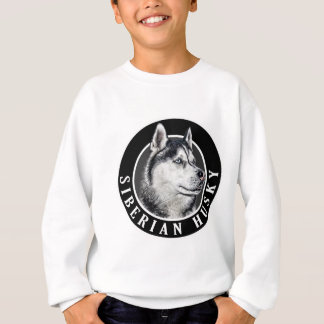 Siberian Husky Dog 002 Sweatshirt