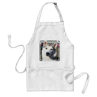 Siberian Husky Dog Apron
