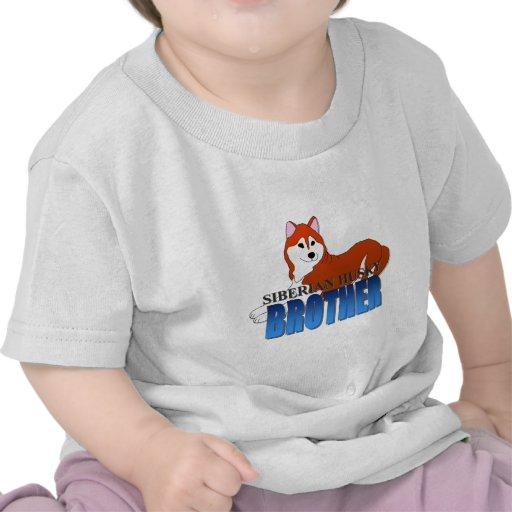 Siberian Husky Dog Brother Tshirt
