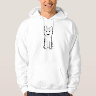 Siberian Husky Dog Cartoon Hoodie