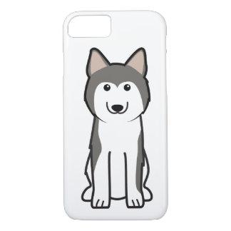 Siberian Husky Dog Cartoon iPhone 7 Case