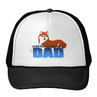 Siberian Husky Dog Dad Cap
