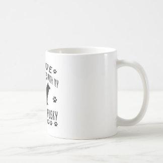 Siberian Husky Dog Design Coffee Mug