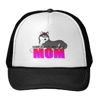 Siberian Husky Dog Mom Cap