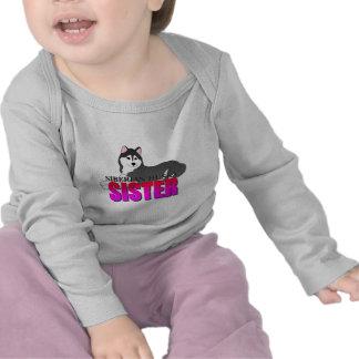 Siberian Husky Dog Sister Tee Shirt