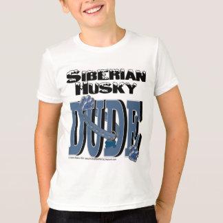 Siberian Husky Dude T-Shirt