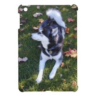 Siberian Husky Fall Silhouette iPad Mini Cover