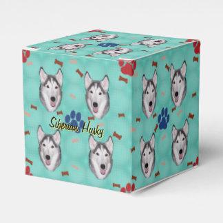 Siberian Husky Favour Box
