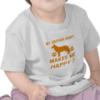 Siberian Husky gift items Tshirt