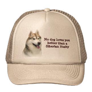 Siberian Husky Gorgeous Hat