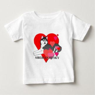 Siberian Husky Hearts Shirt