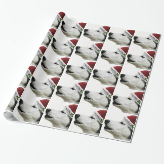 Siberian Husky Holiday Gift Wrap