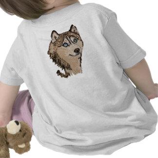 Siberian Husky II Animal Art Tshirt