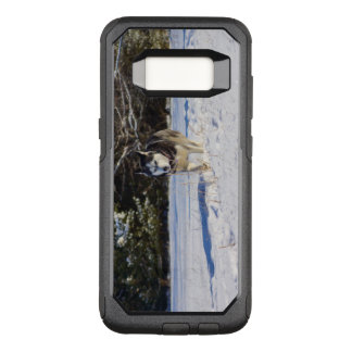 Siberian Husky In The Snow OtterBox Commuter Samsung Galaxy S8 Case