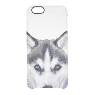 Siberian husky, iPhone clear case, original Clear iPhone 6/6S Case