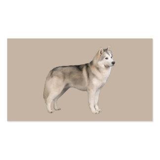 Siberian Husky Lover Business Card