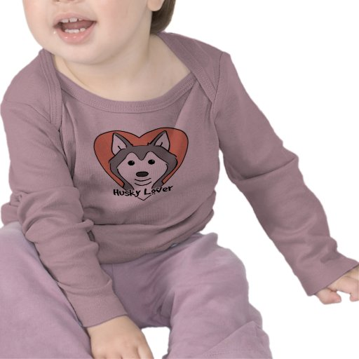 Siberian Husky Lover Tshirts