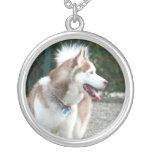 Siberian Husky necklace