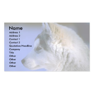 Siberian Husky pup Business Card
