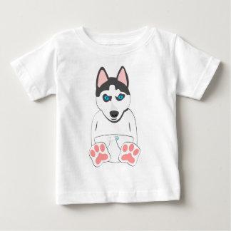 Siberian Husky Puppy Baby T-Shirt